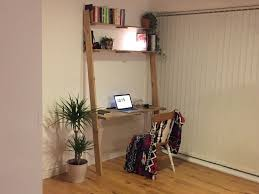 recycled wooden furniture. Ladder Desk With Shelves - Reclaimed Recycled Wood Handmade PC Office Furniture Design Wooden