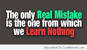 Learning From Mistakes Quotes Awesome Mistake Quotes And Sayings Images Pictures Page 48 CoolNSmart
