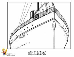 Free Titanic Coloring Pages With Swanky