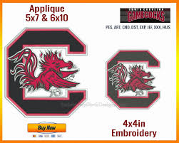Gamecock Embroidery Design Collection South Carolina Gamecocks Nfl Sports Team Logo Sports