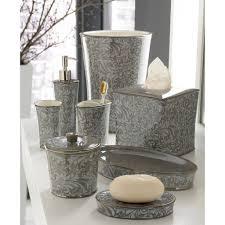 modern bathroom accessories sets. Ideas Design Gray Bathroom Accessories Set Furniture Completing In Modern Sets S