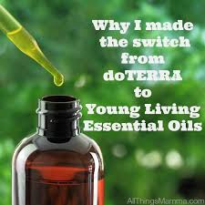 why i made the switch from doterra to young living essential oils all things mamma