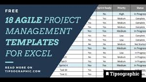 Excel Templates For Project Management 18 Jackpot Agile Project Management Templates For Excel