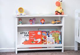 add functional storage to kids room with this diy kids bedside table