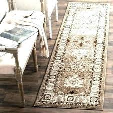 runner rug runners 2 x vintage oriental taupe feet rugs 10