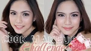 200k makeup challenge bahasa indonesia trixie wilona