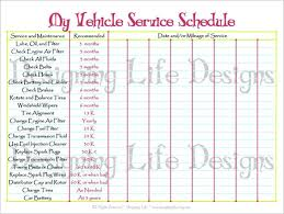 Car Maintenance Mileage Chart Vehicle Maintenance Program Template Why Is Vehicle