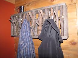 Cabin Coat Rack Mesmerizing I Made A Coat Rack For Our Cabin It Cost Me Zero Dollars Rebrn