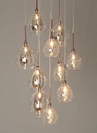 lighting for lounge ceiling. bhs illuminate atelier carmella 10 light cluster glass and copper ceiling for the dining room chandelier lighting lounge l