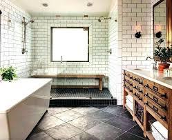 small bathroom ideas farmhouse tile modern trash can farmhous small farmhouse bathroom