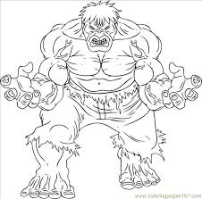 Small Picture The Incredible Hulk Step 7 Coloring Page Free Fantastic Four