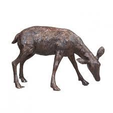 baby deer garden statue c irongate