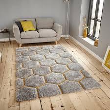 noble house nh30782 grey yellow rug