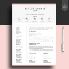 Modern Resume Template / Cv Template | Professional And Creative ...