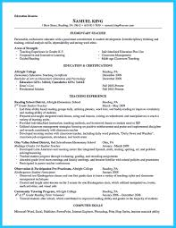 Assistant Teacher Resume There Are Several Parts Of Assistant Teacher Resume To Concern 22
