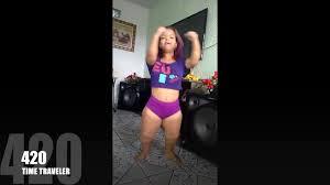 Ass large midget woman