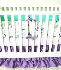 baby girl bedding purple mermaid crib bedding ocean girl baby bedding purple mint purple and blue