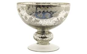 etched mercury glass compote loading zoom