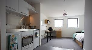 studio kitchen area at kelvingrove house in glasgow