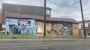 George Floyd mural destroyed in Toledo ...
