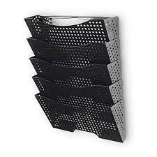 wall file holder organizer metal modern