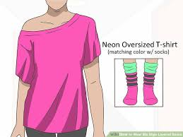 image titled wear 80s style layered socks step 8