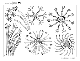 Small Picture Download Coloring Pages Fireworks Coloring Pages Fireworks