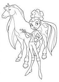 Small Picture Horseland coloring pages calypso running ColoringStar