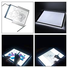Artist Light Board Simply Silver Artist Light Board 1 Set A4 Led Artist