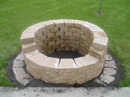 outdoor stone fire pit. Project Yourself Outdoor Fireplace | Stone Fire Pit -sale-004-small-.jpg