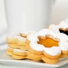 Stir in flour and chopped almonds. Austrian Jam Cookies Recipe Allrecipes