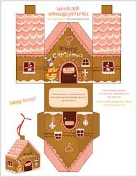 6 Free Gingerbread House Printable Downloads These Are So Sweet