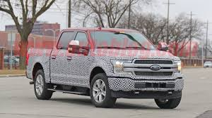Ford F-150 EV full-size pickup spy photos reveal independent rear ...