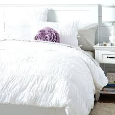 target white ruched duvet ruched duvet cover sham white pbteen in twin xl coverruched covers white ruched duvet cover king