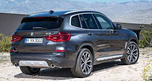2018 bmw. fine 2018 2018 bmw x3 rear to bmw
