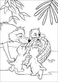 Kleurplaat Jungle Boek Jungle Book Jungle Printable Coloring