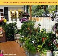 Small Picture Grow a Container Vegetable Garden on Your Patio Tips The Foodie