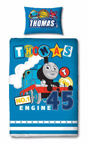 Thomas The Tank Engine 'Patch' Panel Single Bed Duvet Quilt Cover ... & Thomas The Tank Engine 'Patch' Panel Single Bed Duvet Quilt Cover Set Adamdwight.com