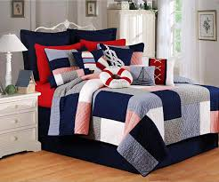 Newport Cottage Red White and Blue Patchwork Quilt | Henry's quilt ... & Newport Cottage Red White and Blue Patchwork Quilt Adamdwight.com