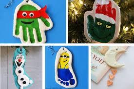 Salt Dough Handprints  The Imagination TreeSalt Dough Christmas Gifts