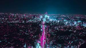 Cyberpunk City Skyline 4k - 2048x1152 ...