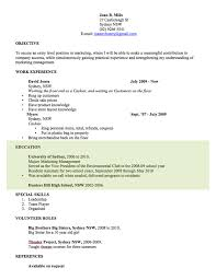 Free Resume Templates For Word Adorable CV Template Free Professional Resume Templates Word Open Colleges