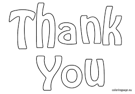 Elegant Thank You Coloring Page 97 For Your Coloring Pages For