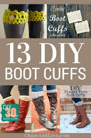 wanna make yourself some really fun boot cuffs here are 13 diy boot cuffs tutorials