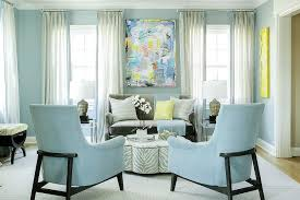 Gray And Blue Living Room With Gray Zebra Ottoman Coffee Table Extraordinary Blue Living Rooms Interior Design