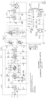 Harmonic Distortion Heathkit Hd1 Harmonic Distortion Meter Sch Service Manual Free