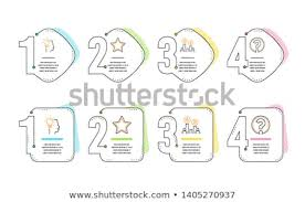 Star Ab Testing Idea Icons Simple Stock Image Download Now
