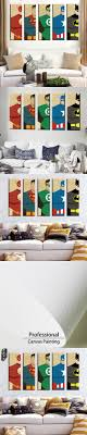 Oil Painting Watercolor Art Prints Poster Hipster Wall Picture Canvas  Painting Cartoon Superman Kids Room Home