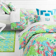 garnet hill lilly pulitzer bedding set