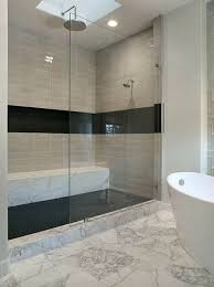 modern tile showers. Simple Showers Stripe Detail Source Vertical TIle And Modern Tile Showers L